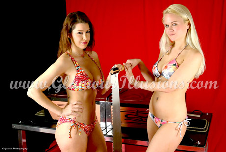 alisa kiss and victoria sun thinbox sawing illusion