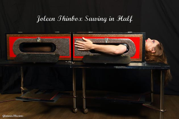 Joleen Thinbox Sawing illusion